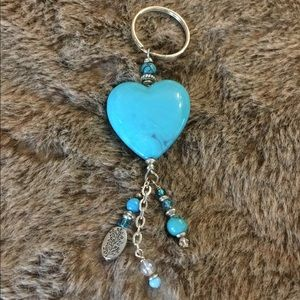 Accessories - Heart Keychain New Without Tags